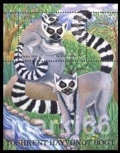 Uzbekistan MNH S/S 844 Fauna Monkey 2010 SCV 5.50