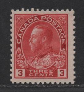 $Canada Sc#109c M/NH/VF, Die II, Cv. $125