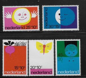 NETHERLANDS, B476-B480, MNH, CHILD WELFARE