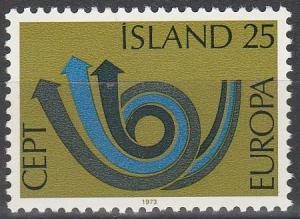 Iceland #448  MNH F-VF  (SU4748)
