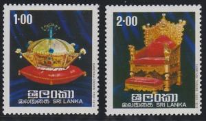 Sri Lanka 518-519 MNH (1977)