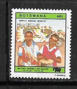 Botswana #447 60t    (MMH) CV $1.60
