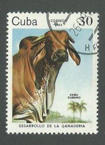 1984 Cuba Scott Catalog Number 2732 Used