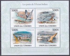 2009 Comoro Islands 2701-2704KL Birds 9,00 €