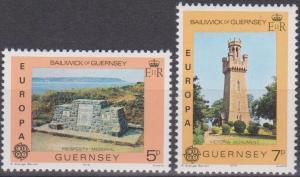 Guernsey #161-2 MNH VF  (A9172)