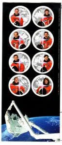 Canada Sc 1999 2003 Canadian Astronauts stamp sheet mint NH