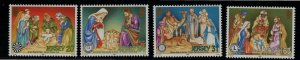 Jersey SC879-882 Christmas Service Clubs MNH 1998