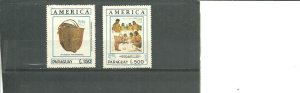 Paraguay MNH UPAEP American Indians