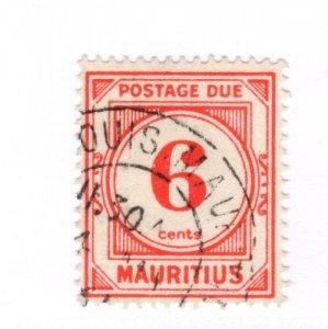 Mauritius #27.50 Used - Stamp CAT VALUE $27.50