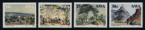 South West Africa 578-81 MNH Art, Paintings, Thomas Baines, Horse