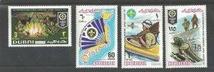1971 Dubai Boy Scouts World Jamboree Japan mint NH