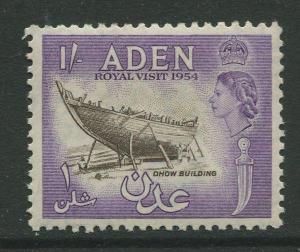STAMP STATION PERTH Aden #62- QEII Definitive Issue 1953-59  MLH  CV$0.65.