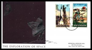 Ascension 138,144 Space Typed FDC