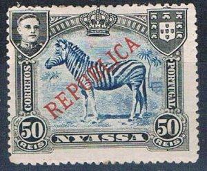 Nyassa 56 MLH Zebra 1911 (HV0147)