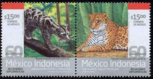 MEXICO 2819a, 60th Anniv. Diplomatic Relations Indonesia MNH