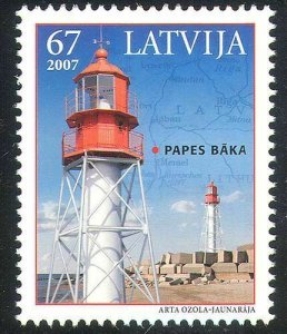 2007 Latvia 699 Architecture - Lighthouses 2,30 €