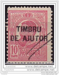 Romania - Timbru De Ajutor 1915, Postal Tax, sc#RA2, used