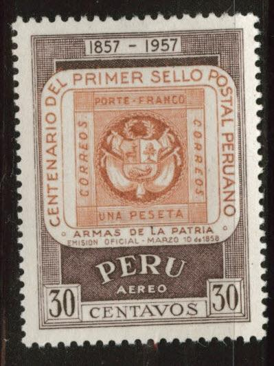 Peru  Scott C135 MNH** stamp on stamp
