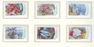 Guernsey Sc 972-7 2008 Wetlands stamp set mint NH
