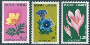ANDORRA-FRENCH SCOTT 238-240