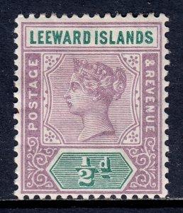 Leeward Islands - Scott #1 - MH - SCV $3.75