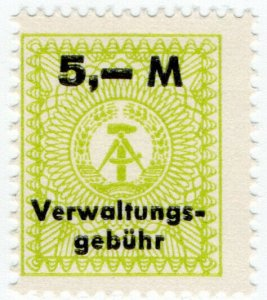 (I.B) East Germany Revenue : Administration Fee 5M