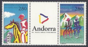 ANDORRA-FRENCH SCOTT 442A