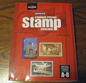 2011 Scott Stamp Catalogue Countries A-B