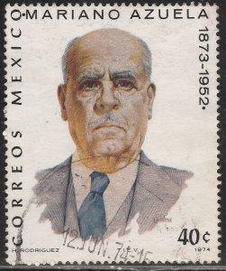 MEXICO 1061, Mariano Azuela, writer. Used. (495)