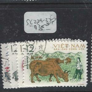VIET NAM  (P1305B)  ANIMALS  SC 229-232   VFU