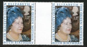 Great Britain Scott 919 MNH** 1980 Queen Mother pairs