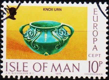 Isle of Man. 1976 10p S.G.89 Fine Used