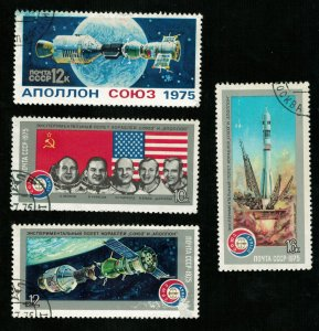 Space, series, Joint space flight USA-USSR, Apollo, (3267-T)