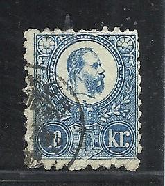 Hungary #10 used cv $10.00