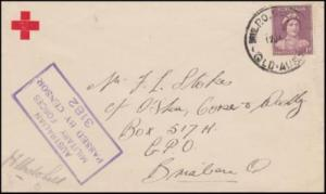 Australia 1945 (Jan) Censored Military Cover Charters Towers to Brisbane Qld