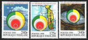 Togo. 1999. 2969-71. Free Zone Anniversary. MNH.