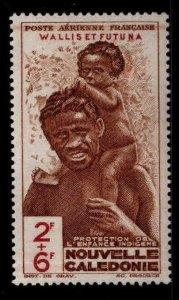 Wallis and Futuna Islands Scott CB2 MH* Airmail semi-postal stamp