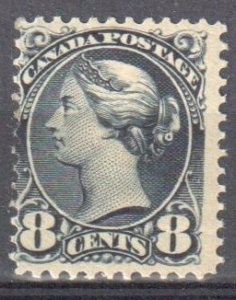 Canada #44 Mint F-VF OG LH Small Queen