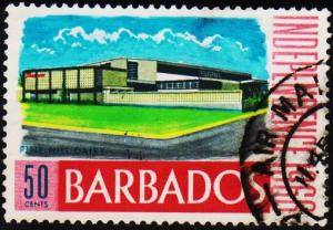 Barbados. 1966 50c S.G.359 Fine Used