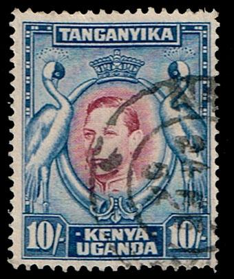 Kenya - 1937 - Scott #84 - Used