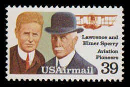 PCBstamps    C114 39c Lawrence and Elmer Sperry, MNH, (12)