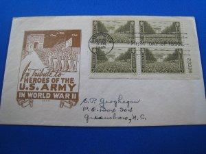 U.S. 1945 - SCOTT #934  PB  FDC