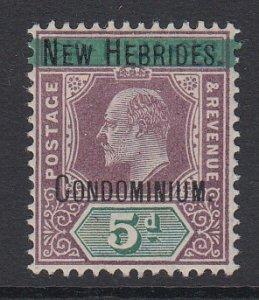 NEW HEBRIDES, Scott 4, MHR
