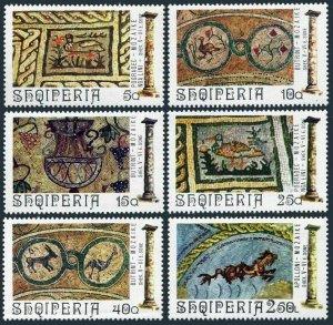 Albania 1564-1569,MNH.Michel 1682-1687. Mosaics:Buthrotium,Pogradec,1974.Duck,