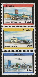 ARUBA  SC #  212 - 4     MNH