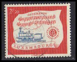Luxembourg Used Fine ZA5311