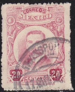 Mexico 624 Belisario Domınguez 1920