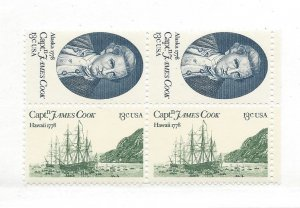 United States, 1732-33, Captain Cook Block of 4, MNH