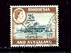 Rhodesia and Nyasaland 168 Used 1959 issue