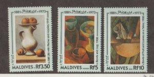 Maldive Islands Scott #1876-1877-1878 Stamps - Mint NH Set